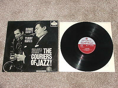 RONNIE SCOTT  TUBBY  HAYES   THE COURIERS OF JAZZ     1959  MONO  1st PRESS  LP