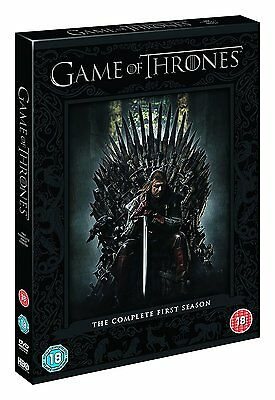 Game of Thrones The Complete First Season Series 1 New & Sealed DVD Box Set