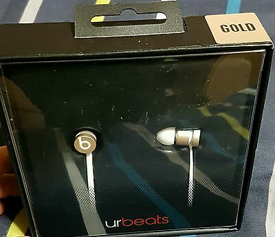 Beats by Dr. Dre UrBeats 2 In-Ear Only Headphones - Gold in Boxed