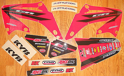 N-Style Graphics Decals Kit Cr125 Cr250 ( 2002 2003 2004 2005 2006 2007 2008 )