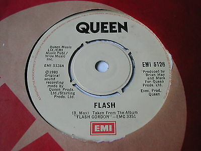 Queen - Flash  - Emi 7""