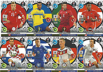 Panini  Adrenalyn XL Trading Cards Road to Uefa Euro 2016 Fans Favourite