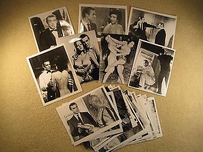 61 Different James Bond 007 B&W Photos Dr. No From Russia With Love Goldfinger