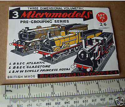 PG1 Pre-Grouping Series Micromodels Set. Atlantic, Gladstone & Princess Royal