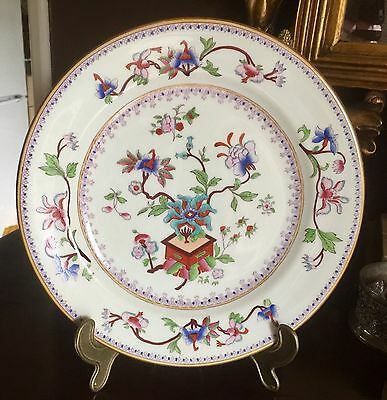 """Royal Worcester 10"""" Plate. Chinoiserie Pattern Number 5969. Dated 1881. #1"""