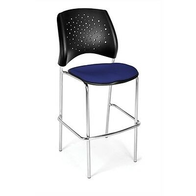 OFM Stars CafT Height Chair, Royal Blue