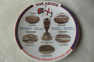 Aynsley Bone China England Ashes Victory Plate 2005