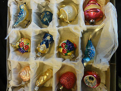 vintage christmas ornaments ( bride's collection
