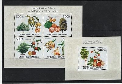 N4. Comoro - MNH - Nature - Plants