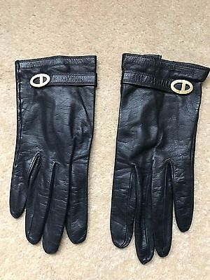 Christian Dior Leather Gloves Women