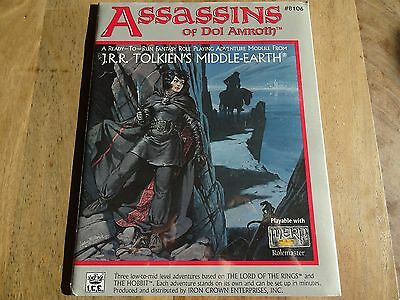 """New sealed """"Assassins of Dol Amroth"""" -english- (MERP, MERS, Rolemaster, ICE)"""
