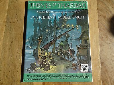 "New sealed ""Thieves of Tharbad"" -english- (MERP, MERS, Rolemaster, ICE)"