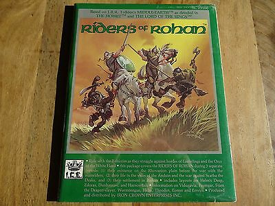 """New sealed """"Riders of Rohan"""" -english- (MERP, MERS, Rolemaster, ICE)"""