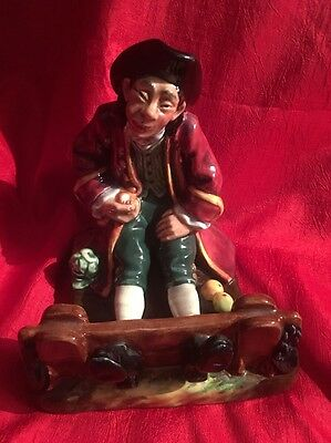 Royal Doulton Figurines In The Stocks HN 2163 Excellent