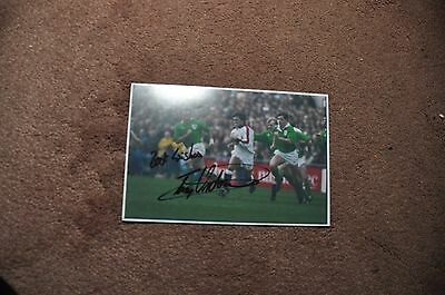 Tony Underwood - Rugby/sport -- Signed Photo/autograph 6 X 4
