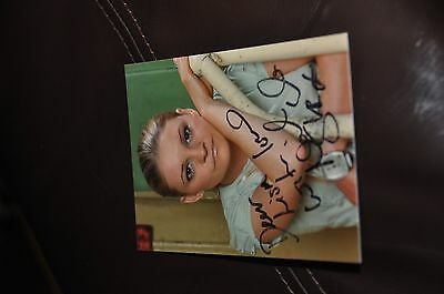 Nicola Stapleton - Hand Signed Photo Tv