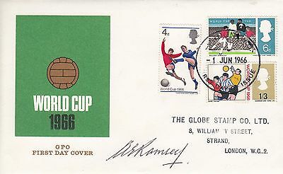 Alf Ramsey - World Cup 1966 - Signed Cover