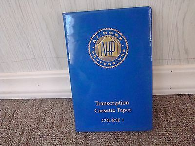 Medical Transcription audio tapes At Home Professional Set of 4