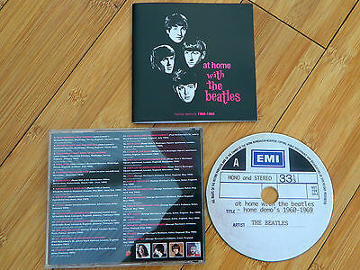 The Beatles - At Home With The Beatles (Home Demo's 1960 - 1969) Acetate Cd Mint