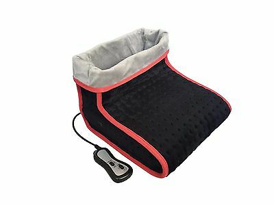 PureMate PM 5006 Electric Heated Soft Relaxing Foot Warmer & Massager
