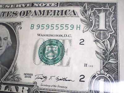 2 Numbered $2 Two Dollar Banknote (J7)