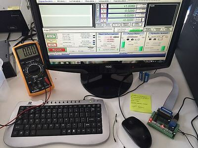 Mach3 CNC PC USED with Break out Board and Full Licensed Softwares – USED