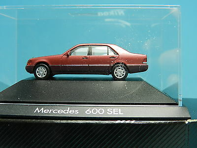 Herpa Private Collection 100113  Mercedes Benz 600 Sel 1:87
