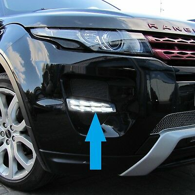 Range Rover Evoque LED DRL Front fog lamps lights upgrade Pure Prestige Dynamic