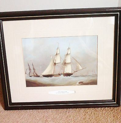 'The Schooner Ship' Galleon, Yacht, Boat Large-Print