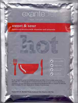 15x Exante Diet VLCD Sweet and Sour Noodles (MRP)