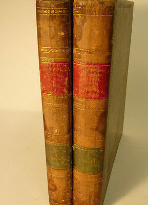 Antique Books HISTORY & TOPOGRAPHY OF THE US HINTON 1ST EDITION 1834 2 VOL
