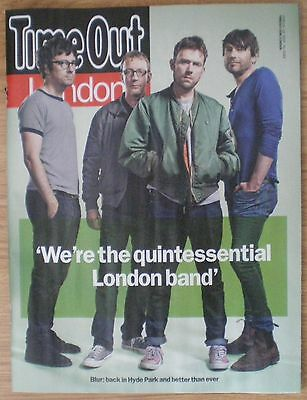 Blur – Time Out magazine – 16 June 2015