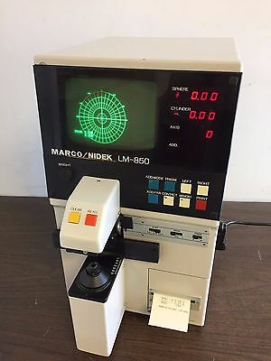 Nidek/Marco Auto Lensometer, Auto Lensmeter, model LM-850. GREAT FOR ANY OFFICE.