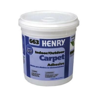 Henry Ww 12185 663 Outdoor Carpet Adhesive, 1-Gal. - Quantity 1