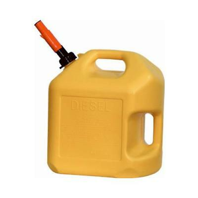 Midwest Can 8600 5-Gallon Yellow Diesel Container - Quantity 1