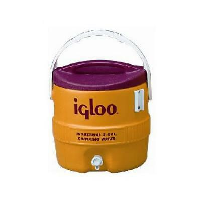 Igloo 431 3-Gallon Yellow/Safety Red Industrial Water Coole - Quantity 1