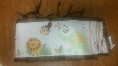 Breathable Baby Breathable Crib Bumpers Complete Set Animals