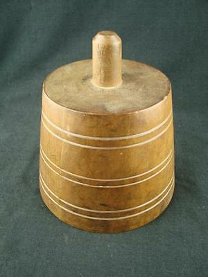 Victorian Milliners Wooden Stand For Hat Mould