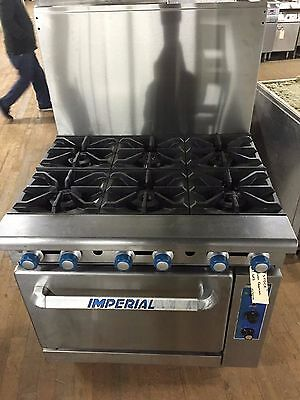 GAS RANGE 6 burner with Convection Oven
