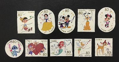 Sellos  de Japón Usados 1 Set Completo/ Japan Stamps Used 1 set Completed