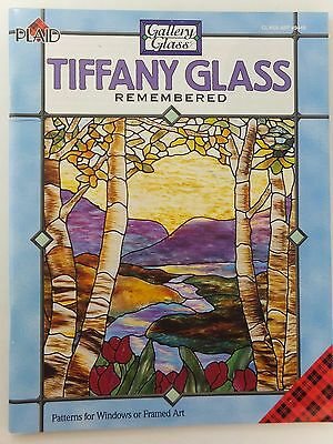 Tiffany Glass Remembered Book by Carol Smith Gallery Glass Art Crafts