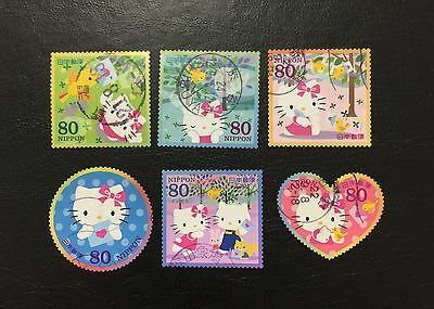 Sellos de Japón 1 Set Completo / Japan stamps used 1 Set Completed