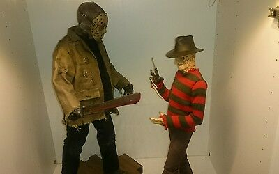 sideshow collectibles freddy vs Jason both premium formats
