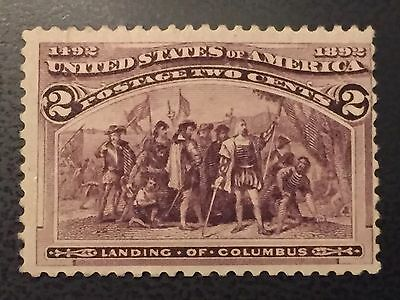 US Stamps Collection Scott#231 2 Cent Unused
