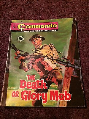 Very Early Commando Comic Number 561 VGC