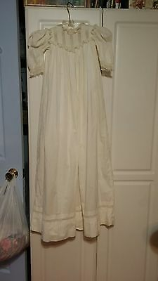 Gorgeous Vintage Victorian Long Christening Gown Dress