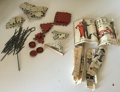 Vintage Sanlo Construction Set With Manual 60's