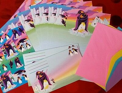 Lisa Frank Stationary Penguins