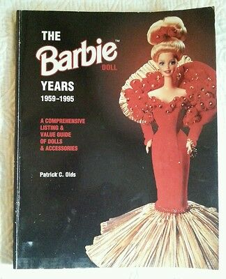 THE BARBIE DOLL~Collector's Guide~Patrick Olds 1959~1995 Rare book