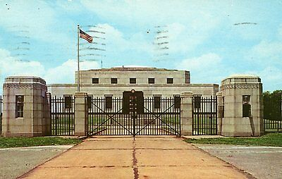 "Fort Knox Kentucky ""u.s. Gold Depository"" Postcard 1980 Cancel"